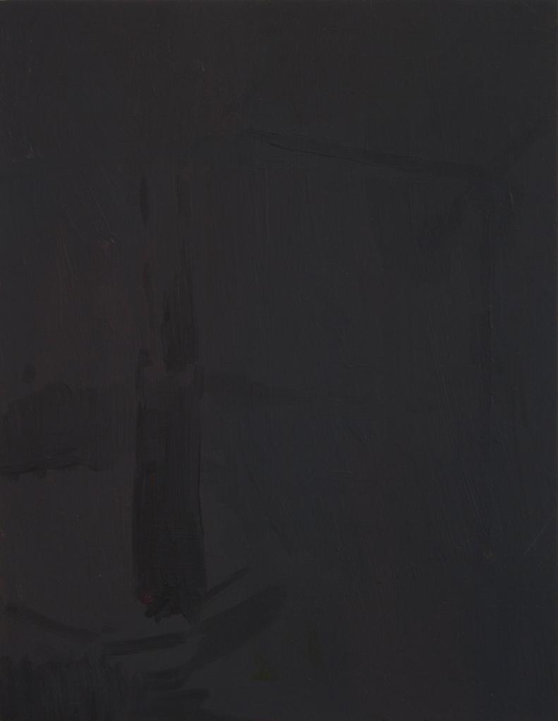 Nocturne, The wine dark sea, 2012, Oil paint on board, 23.9 x 18.5 cm