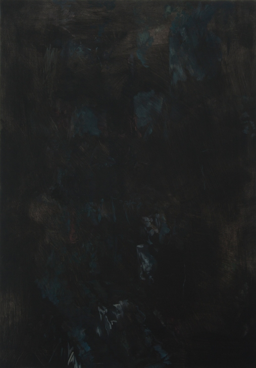 Untitled, 2011, OIl on wooden panel, 81.5 x 57 cm