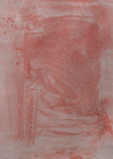 Detail, Untitled (Waiting) 2013, Oil on paper on board, 14.8 x 10.5 cm