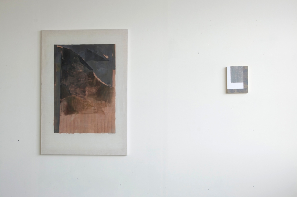 Untitled, 2012, and Torpid Smoke, 2012