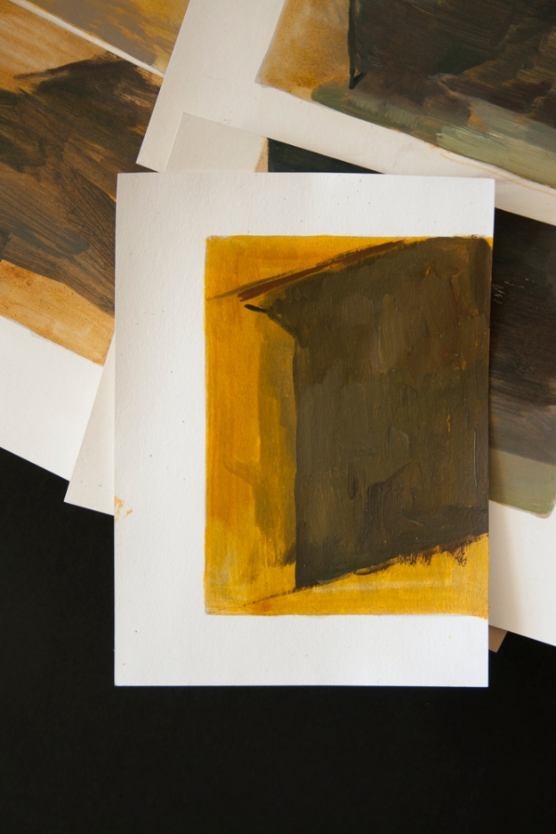 Sample from Yellow window