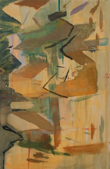 even/odd, 2014, Oil on wooden panel, 60.2 x 39.3 cm